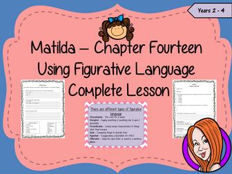 Figurative Language  – Matilda
