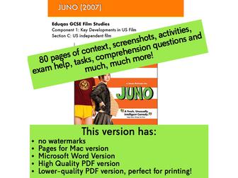 JUNO study guide for GCSE Film Studies