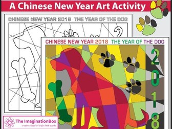 Chinese New Year 2018 Free Coloring Pages Year Of The Dog By Dipagan