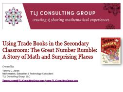 Using Trade Books in the Secondary Classroom: The Great Number Rumble