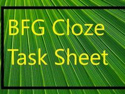 BFG Gap Filler Task Sheet