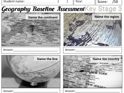 Geography baseline test