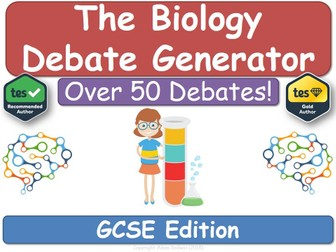 the biology debate generator gcse ks4 biology