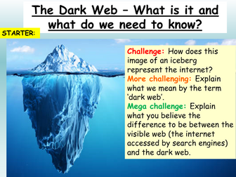 Internet + Online Safety - The Dark Web