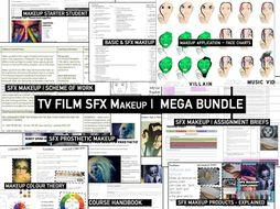 Makeup TV FILM SFX |  Mega Bundle