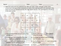 Airports-Hotels Magic Square