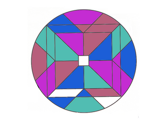 Colour by indices with algebra with extension
