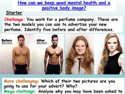 Body Image + Media (3 LESSONS)