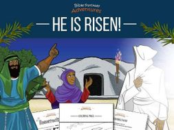 He is Risen! Activity Book for Kids Ages 6-12