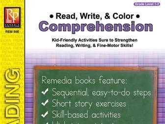 Read, Write, & Color: Comprehension (Gr.1-2)