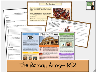 History- The Romans- The Roman Army lesson