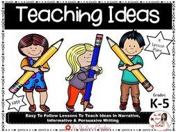 Teaching Ideas Lesson Plans