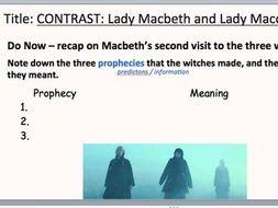 comparison of macbeth and lady macbeth