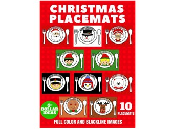 10 CHRISTMAS PLACEMATS   CHRISTMAS CRAFTS FOR KIDS
