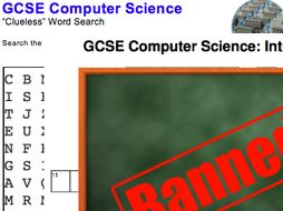 GCSE Computer Science: Puzzles & Games pack