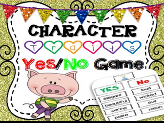 Fairy Tales Character Traits Game