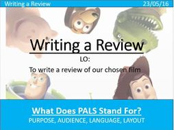 GCSE - Review Writing