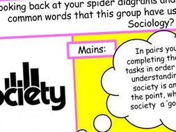 What is Sociology? (1/5) - Introduction (GCSE Sociology AQA)
