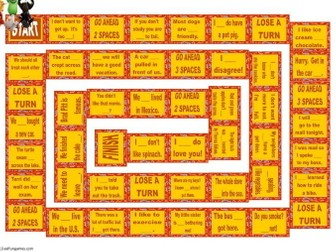 Adverbs Animated Board Game