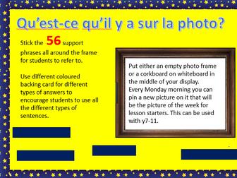 New GCSE Photocard Display
