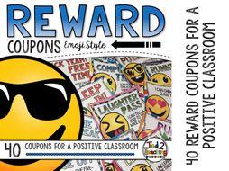 Reward Coupons - Emojis