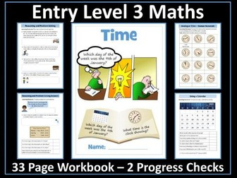 Time AQA Entry Level 3 Maths
