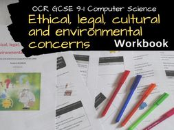 Ethical, legal, cultural and environmental concerns OCR GCSE 9-1