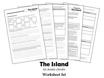 The Island - Armin Greder - Worksheet set