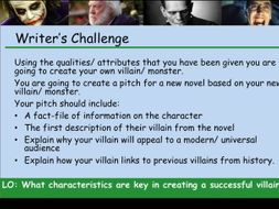 KS3 Villains and Monsters ppt