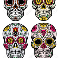 Day Of The Dead Maskskull Design By Donlevya Teaching Resources Tes
