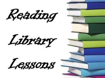 Library Lesson Activity Pack with staff and student booklet