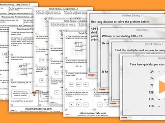 Year 6 Long Division 3 Autumn Block 2 Step 7 Lesson Pack