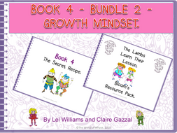 Book 4 - Bundle 2 - Growth Mindset – The Secret Recipe & Bloom's Resource Pack by The World Of Whyse.