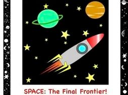 Space: The Final Frontier, An Internet Activity