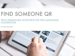 Tech Enhanced Activities - Find Someone QR