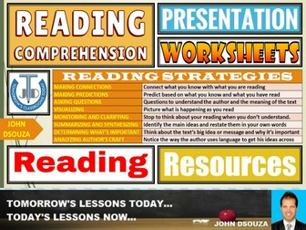 READING COMPREHENSION: LESSON PRESENTATION