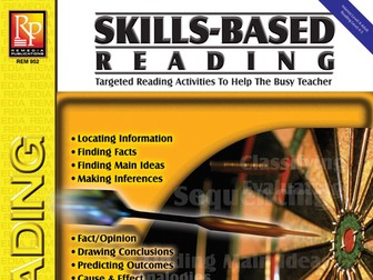 Skill-Based Reading Strategies w/Nonfiction Stories for Reading Level 4-5