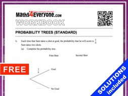 Probability Trees (Workbook with Solutions)