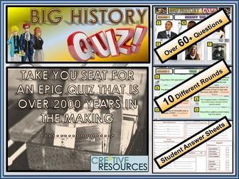 The Big 2018 History Quiz