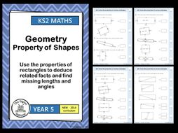 Year 5 - Properties of Rectangles - Geometry - Property of Shape White Rose (INC. MASTERY)