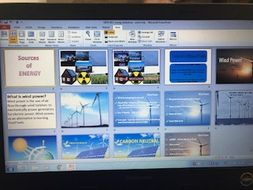 WIND POWER powerpoint - new AQA D&T Design and Technology GCSE syllabus