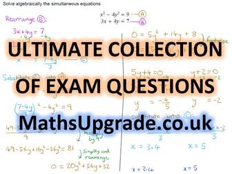 Iteration - EdExcel mock GCSE questions