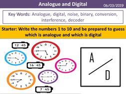 Analogue and Digital (Pearson BTEC)