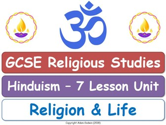 GCSE Hinduism - Religion & Life (7 Lessons)