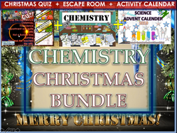 Chemistry Scence Christmas activities