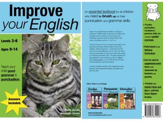Improve Your English (ages 9-14 years) Teach Your Child Good Punctuation &  Grammar series