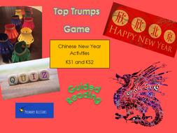 Chinese New Year Activities KS1 and KS2