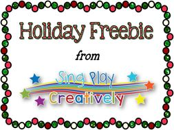 Holiday Freebie Coloring and Gift Activities for Elementary Teachers