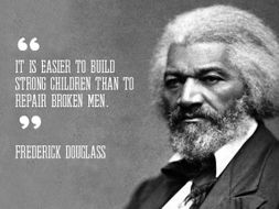 learning to read and write frederick douglass