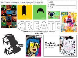 NCFE L1 Graphic Design UNIT 04 SCHEME OF WORK